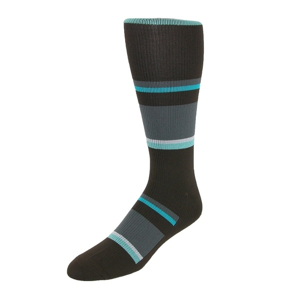 Think Medical Men's Striped Compression Socks