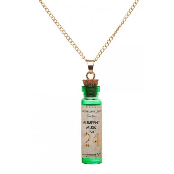 Fantastic Beasts and Where To Find Them Erumpent Musk Bottle Necklace - multi