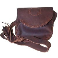 Rightnour Mfg 4080 Hand Laced Leather Possible Bag