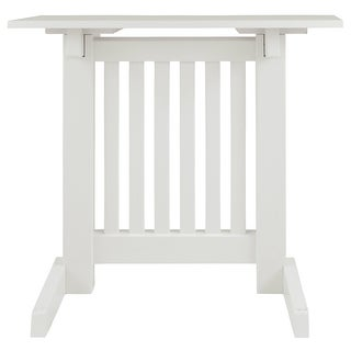 Braunner Chair Side End Table White Braunner Chair Side End Table