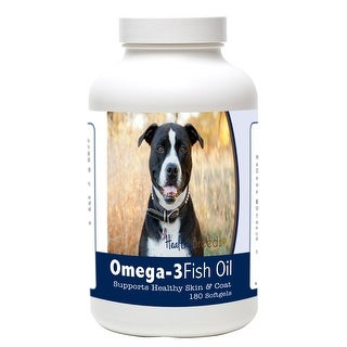 Healthy Breeds Pit Bull Omega-3 Fish Oil Softgels
