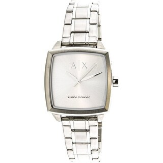 Armani Exchange Women's AX5448 Silver Stainless-Steel Fashion Watch
