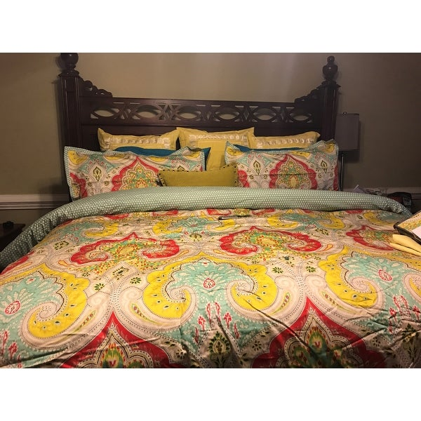 Shop Echo Design Jaipur Multi Cotton Printed Comforter Set Free