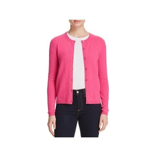 Private Label Womens Cardigan Sweater Button-down Front Ribbed Trim (2 options available)