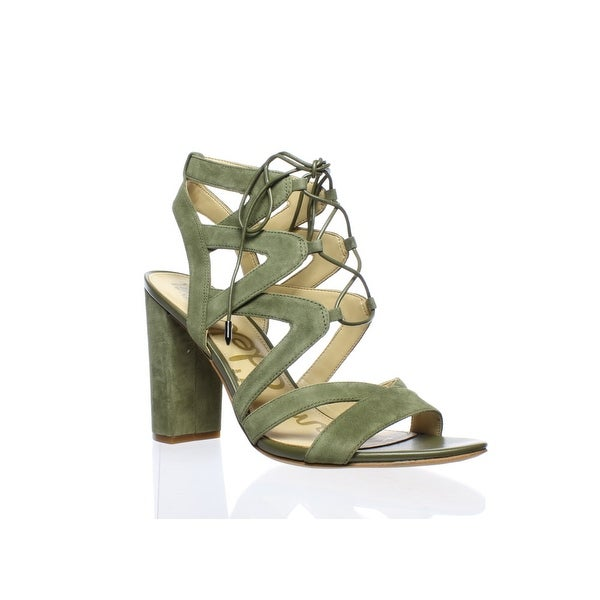 0630bf9a27ed83 Shop Sam Edelman Womens Yardley Moss Green Sandals Size 9.5 - Free ...