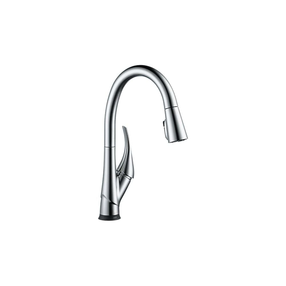 Delta 9181T-DST Esque Pull-Down Spray Kitchen Faucet with On/Off Touch A