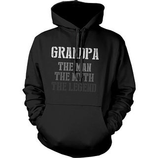 The Man Myth Legend Hoodie for Grandpa Christmas Gift idea for Grandfather