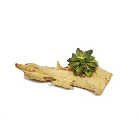 MODA MDW-1030-766S wood pot decoration - 11.81*4.72*H4.33