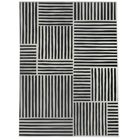 IDA BLACK Area Rug By Kavka Designs