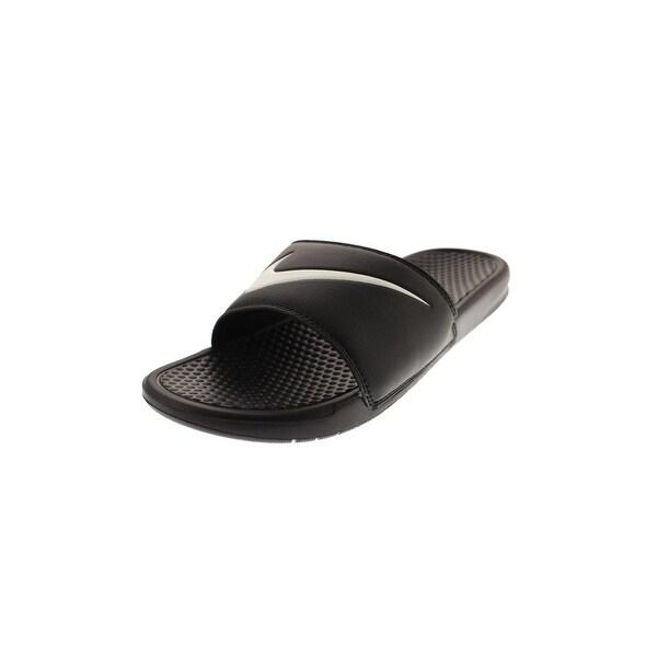 23a043634a4bd4 Shop Nike Mens Benassi Swoosh Slide Sandals Pool Summer - Free ...