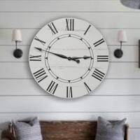 The Sidney Farmhouse Wall Clock
