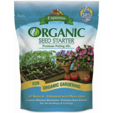 Espoma SS8 Organic Seed Starter All Natural Seed Starting Mix, 8 Qt