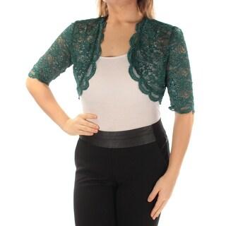 Womens Green Formal Jacket Size 10
