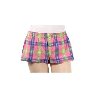 "boxercraft Ladies ""Bitty"" Flannel Dorm Shorts"