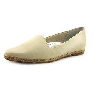 Trotters Lizpadrille W Round Toe Leather Espadrille