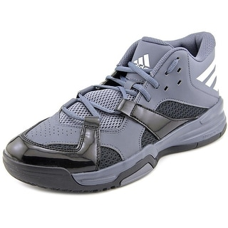 Adidas First Step Men  Round Toe Synthetic Gray Basketball Shoe