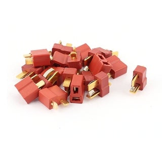 10Pairs Female Male Ultra T Plug Connectors for RC LiPo Battery
