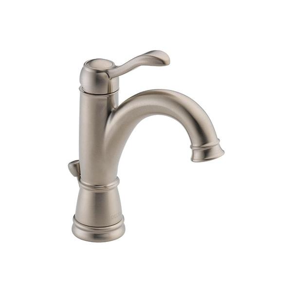 Delta 15984LF-BN Porter Single Handle Centerset Lavatory Faucet
