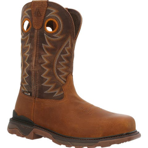 """Rocky Carbon 6: 11"""" Carbon safety toe waterproof boot, RKW0350"""
