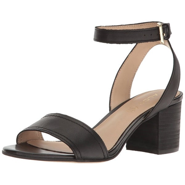 Aldo Womens Lolla Leather Open Toe Casual Ankle Strap Sandals