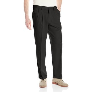Link to Dockers Mens Pants Black Size 44X30 Khakis Non-Wrinkle Pleated Stretch Similar Items in Big & Tall