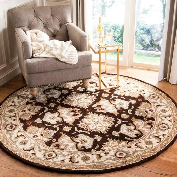 Safavieh Handmade Heritage Caroline Traditional Oriental Wool Rug On Sale Overstock 4498700