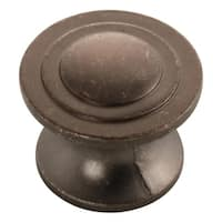 "Hickory Hardware P3101 Deco 1-1/4"" Diameter Mushroom Cabinet Knob - n/a"