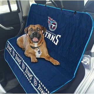 Pets First NFL Tennesee Titans Pet Car Seat Cover