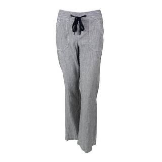 INC International Concepts Women's Striped Linen Pants - deep twilight/white|https://ak1.ostkcdn.com/images/products/is/images/direct/54e5ef178f76be4cfd1547a10c565fd9a8318bdc/INC-International-Concepts-Women%27s-Striped-Linen-Pants.jpg?impolicy=medium