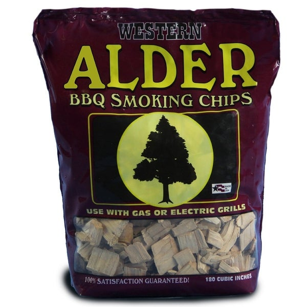 Western 28068 Alder BBQ Smoking Chips, 1 lbs