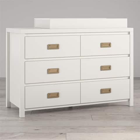 Little Seeds Monarch Hill Haven 6 Drawer Changing Dresser - N/A
