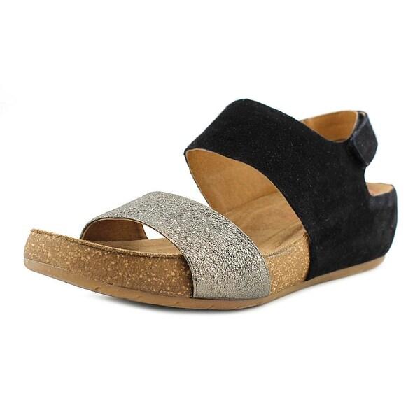 Comfortiva Seeley Black/Copper Sandals