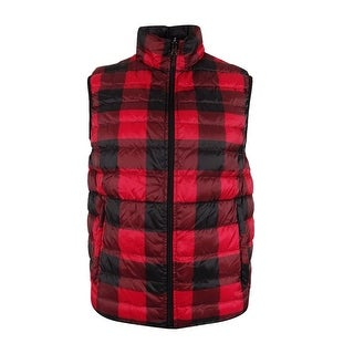 Hawke & Co. Outfitters Men's Reversible Packable Vest (Option: harris tweed/loden - S)