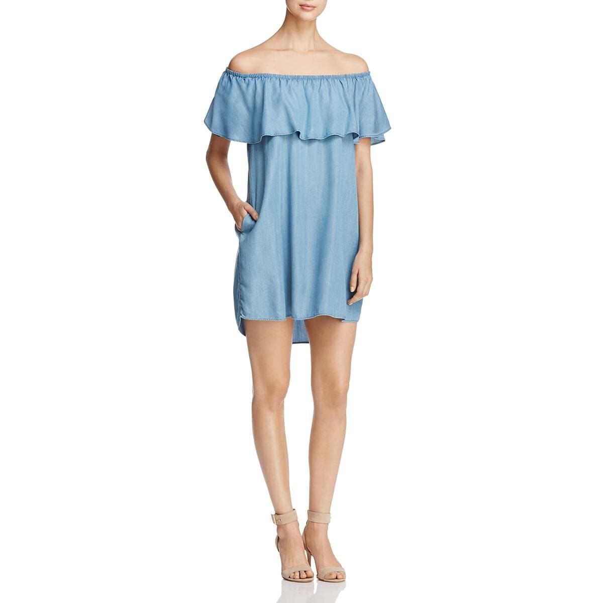 Shop Beach Lunch Lounge Womens Tova Casual Dress Off-The-Shoulder ...