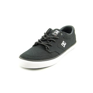 DC Shoes Nyjah Vulc Round Toe Suede Sneakers