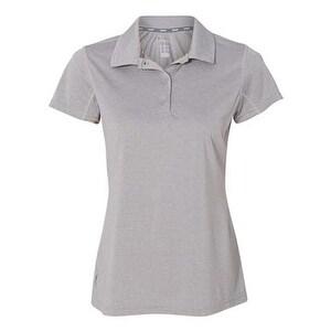 Champion Vapor Women's Performance Heather Sport Shirt - Oxford Grey Heather - L