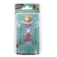 DC Comics Bombshells Supergirl Figure Key Chain - Multi