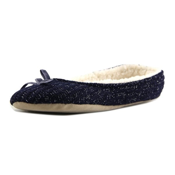 Mixin Ballerina Navy Slippers