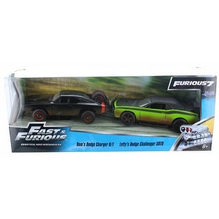 Fast & Furious 1:32 Die-Cast Vehicle 2-Pack: Dom & Letty