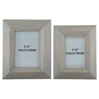 Cadewyn Gray Photo Frame A2000159F - Set of 2 Cadewyn Gray Photo Frame - Set of 2