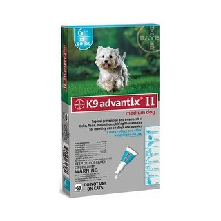 Advantix Flea and Tick Control for Dogs 11-20 lbs 6 Month Supply