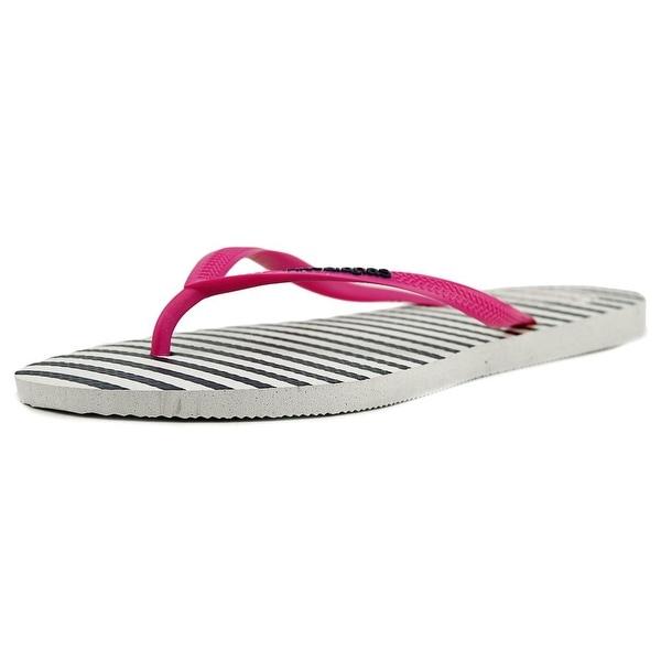 Havaianas Slim Retro Women Open Toe Synthetic White Flip Flop Sandal
