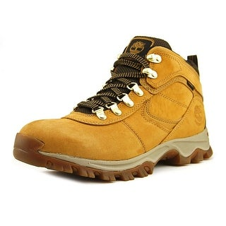 Timberland Mt. Maddsen Mid Waterproof    Round Toe Leather  Hiking Shoe