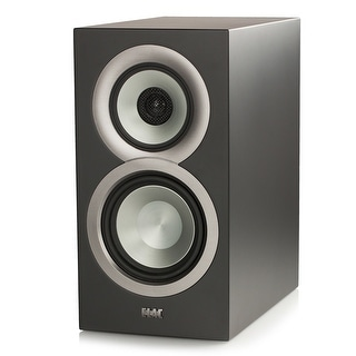 ELAC Uni-fi UB5 Slim Bookshelf Speaker - Black