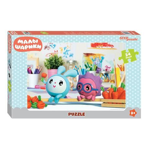 Malyshariki Maxi Jigsaw Puzzle Game 24 Piece for Kids