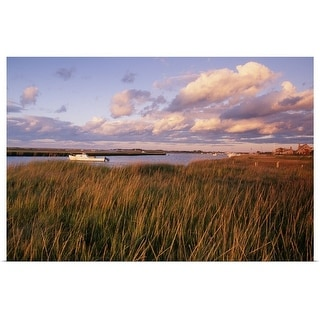 """Salt marsh at Madaket, Nantucket, MA"" Poster Print"