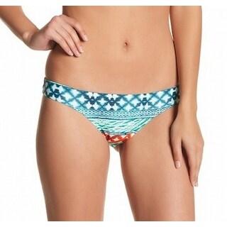 Vix NEW Green Women's Size Large L Tie-Dye Bikini Bottom Swimwear