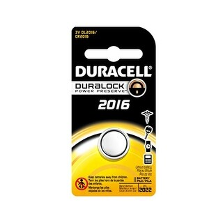 """""""Battery for Duracell DL-CR2016 (Single Pack) Replacement Battery"""""""
