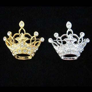 Girls Marquis Crown Pin Pageant Special Occasion Jewelry Accessory