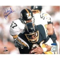 Mike Merriweather signed Pittsburgh Steelers 8x10 Photo